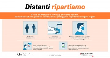 Distanti, ripartiamo!