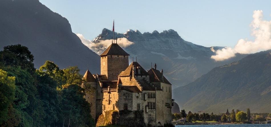 Montreux paesaggio