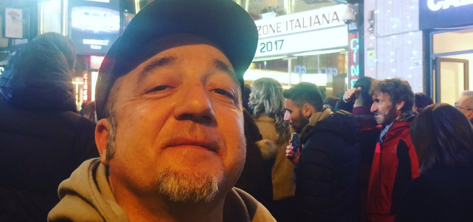 Riccardo Pellegrini a Sanremo