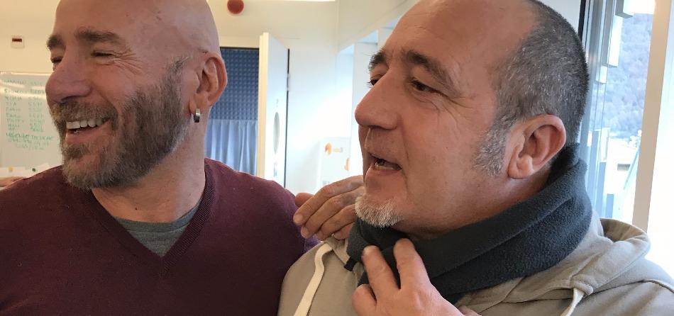 Mario venuti e Riccardo Pellegrini