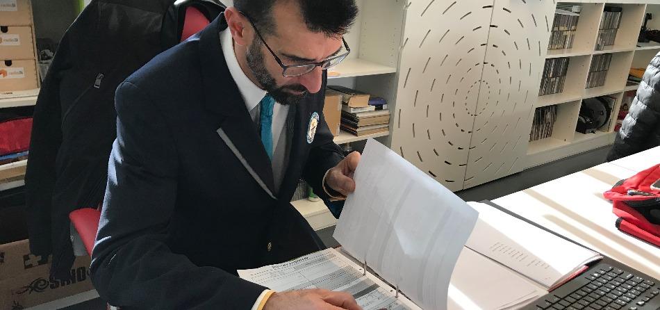 Il giudice Lorenzo Veltri