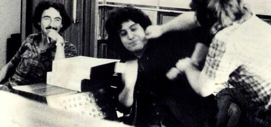 Claudio Poggi e Pino Daniele