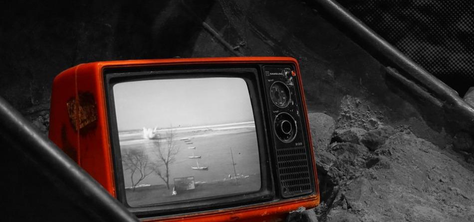 Televisione da buttare