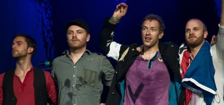 Coldplay in concerto